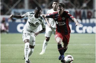 El Ciclón venció a Palmeiras y quedó como único líder del grupo