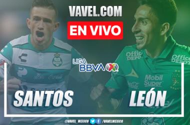 Resumen y goles: Santos 3-2 León en Liga MX Clausura 2020