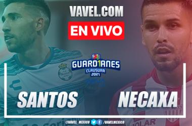 Goles y Resumen del Santos 3-1 Necaxa en la jornada 10 del Guard1anes 2021