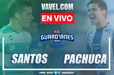 Goles y resumen: Santos 1-1 Pachuca en Liga MX Guard1anes 2020