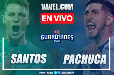 Goles y resumen del Santos 0-3 Pachuca en Repechaje Liga MX 2020