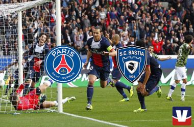 Terminé : PSG 4-0 SC Bastia