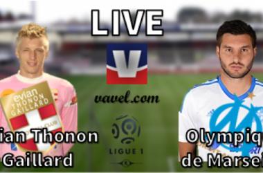 Live Ligue 1 : Évian Thonon Gaillard - Olympique de Marseille, en direct