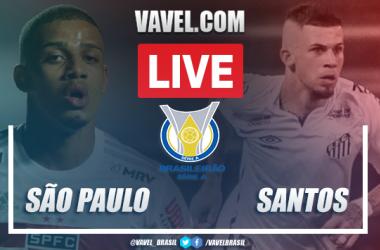 Gols e melhores momentos deSão Paulo 0x1 Santos pelo Campeonato Brasileiro 2020