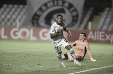 Santos 2 a 0 São Paulo (CBF / Divulgação)