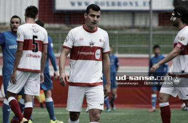 El Sanse, en uno de sus últimos partidos. (Foto: ud-sanse.com Deborah Iraurgui)
