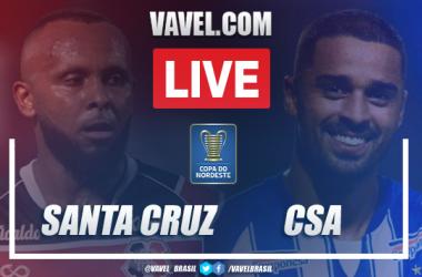 Gols e melhores momentos de Santa Cruz x CSA (1-2)