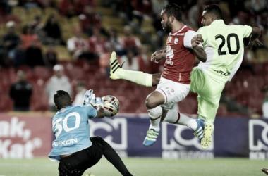 Independiente Santa Fe vs Envigado Fútbol Club: poco fútbol, pocos goles; muchos errores