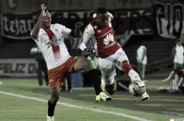 Santa Fe 3-0 Cortuluá: Dominio absoluto en la ida