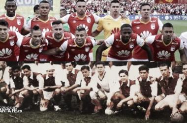 Santa Fe acumula 16 títulos en sus 76 años de historia.   Fotos: Independiente Santa Fe
