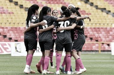 Santa Fe goleó a Llaneros y se mantiene lider del grupo A de la Liga Femenina