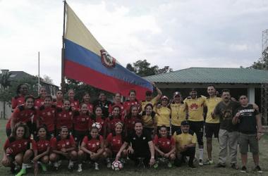 Con 20 jugadoras, Santa Fe va por la Copa Libertadores femenina. | Foto: Independiente Santa Fe