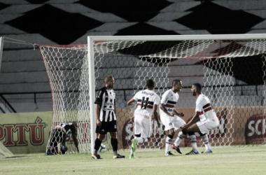Com autoridade, Santa Cruz bate Treze na Copa do Nordeste e conquista primeira vitória em 2018