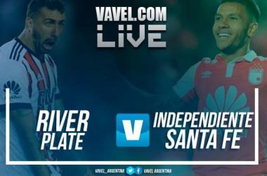 Resumen River Plate 0-0 Independiente Santa Fe en Copa Libertadores 2018