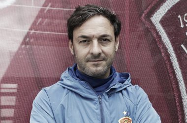 Santi Denia, seleccionador Sub-19. / Foto: rfef.es