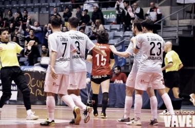 Santiago Futsal es décimo tras ganar y adelantar a D-Link Zaragoza