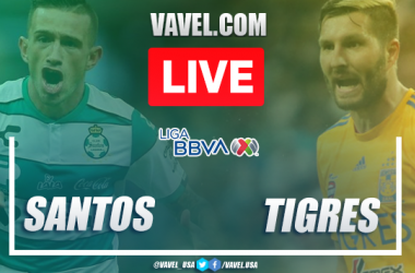 Highlights and goals: Santos Laguna 2-1 Tigres, 2020 Liga MX
