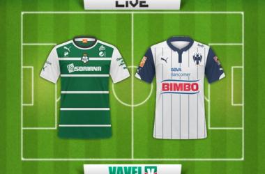 Resultado Santos Laguna - Rayados de Monterrey en Liga MX 2015 (4-1)