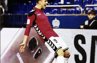 Christian Santos comenzó 2017 marcando en Copa del Rey / Foto: Prensa Alavés