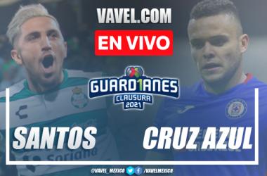 Gol y resumen del Santos 0-1 Cruz Azul en Final Ida Liga MX 2021