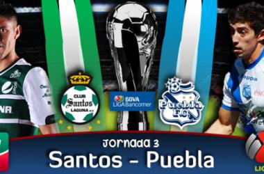 Resultado Santos - Puebla en Liga MX (0-0)
