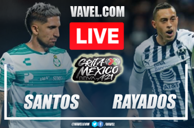 Goals and Highlights of Santos 1-2 Monterrey on Matchday 10 Liga MX