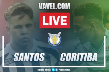 Gols e melhores momentos Santos 2 X 0 Coritiba