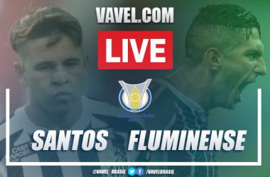 Gols e melhores momentos de Santos 1 x 1 Fluminense pelo Campeonato Brasileiro 2020