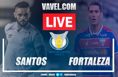 Gols e melhores momentos de Santos x Fortaleza no Brasileirão (1-1)