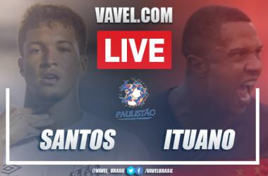 Gols e melhores momentos de Santos x Ituano (2-1)