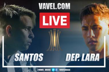 Gols e melhores momentos Santos 2 x 1 Deportivo Lara pela Libertadores 2021