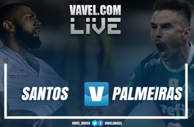 Resultado Santos 1 x 1 Palmeiras pelo Campeonato Brasileiro 2018