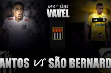 Santos recebe São Bernardo na estreia do Campeonato Paulista