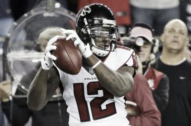 Mohamed Sanu, el pasador perfecto | Foto: NFL.com