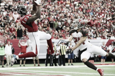 Jameis Winston shines as Tampa Bay Buccaneers get division win over Atlanta Falcons