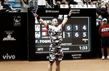 Fabio Fognini, campeón de la pasada edición. Foto: ATP World Tour.