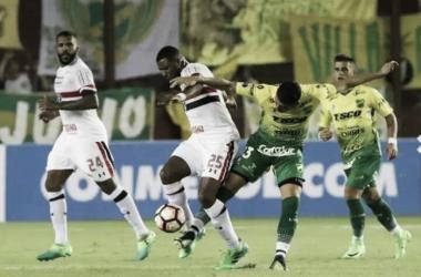 O jogo de ida terminou em 0 a 0 (foto: Rubens Chiri/São Paulo FC)