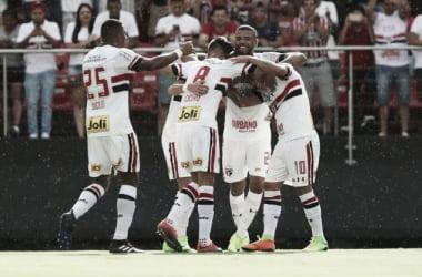 O São Paulo agora enfrentará o Palmeiras na próxima rodada do estadual (Foto: Divulgação/SPFC)