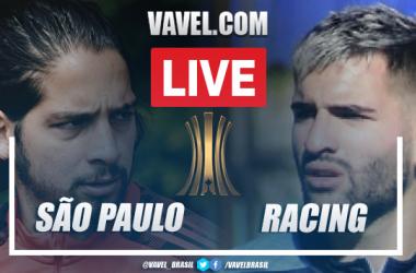 Gol e melhores momentos São Paulo 1 x 0 Racing pela Libertadores 2021