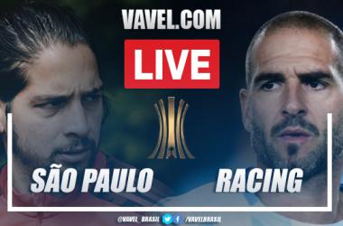 Gols e melhores momentos São Paulo x Racing pela Libertadores(1-1)