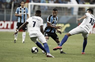 Líder do Gauchão já bateu Grêmio, na Arena, nesta temporada (Foto: Lucas Uebel/ Grêmio FBPA)