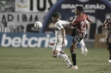 Santos 2 a 2 São Paulo (Foto: Divulgação / Santos FC)