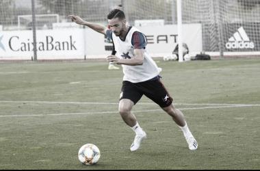 """Pablo Sarabia: """"Voy a trabajar para que continúe este sueño"""""""