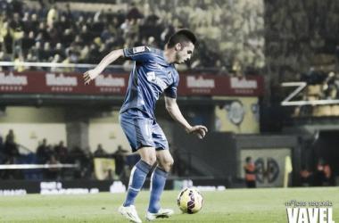 Pablo Sarabia, en un partido de la presente temporada.