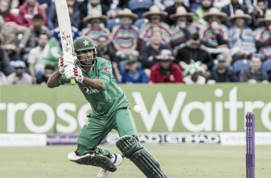 Sarfraz Ahmed became the leading run-scorer in the series as he steered Pakistan home. Photo: espn cricinfo