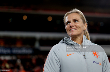 "Sarina Wiegman, new England boss, a ""world-class"" appointment"""