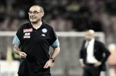 """Sarri: """"El equipo se encuentra más motivado en la Serie A"""""""