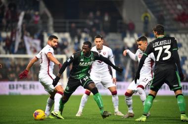 Serie A- Boga e Berardi rimontano il Torino, il Sassuolo ritorna alla vittoria (2-1)