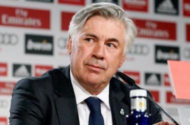 Carlo Ancelotti, técnico del Real Madrid.