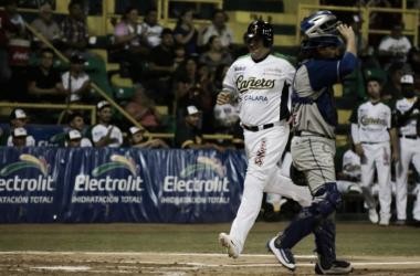 Saúl Soto remolcó tres carreras para los locales | Foto: Cortesía Cañeros de Los Mochis